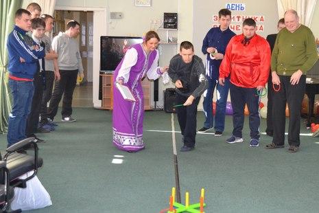 В Центре социальной реабилитации Фрунзенского района прошли настоящие богатырские состязания